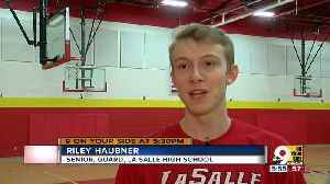 News video: Dyer: La Salle basketball standout Riley Haubner should never be underestimated on the court