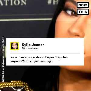 News video: Kylie Jenner Tweet Cut Snapchat's Value By $1.5 Billion