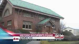 News video: Historians find documents about two Auburn leaders