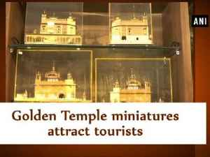 News video: Golden Temple miniatures attract tourists