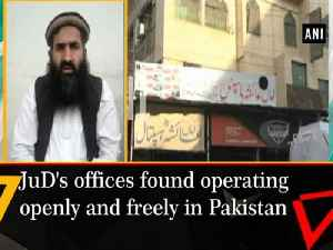 News video: JuD's offices found operating openly and freely in Pakistan