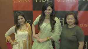 News video: Actress Pooja Chopra Launches Sumona Chopra's Couture Bridal Pop Up