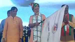 News video: PM Modi Launches Rs 1000-Crore  Projects For Daman & Diu