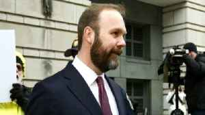 News video: Former Trump adviser Rick Gates pleads guilty to two charges