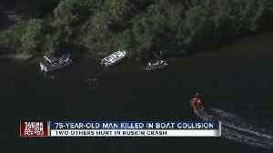 News video: One dead, multiple injured in boat collision on Little Manatee River