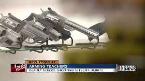 News video: Teachers are divided over carrying guns on campus