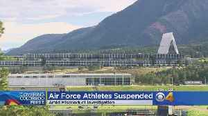 News video: Air Force Academy Suspends 11 Athletes For Misconduct