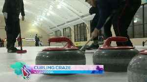 News video: Wauwatosa Curling Club packed with Olympic enthusiasts