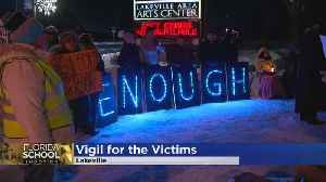 News video: Vigil Held In Lakeville For FL. Shooting Victims
