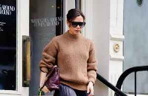 News video: Victoria Beckham pokes fun at herself with new T-shirt line