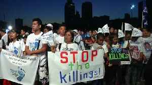 News video: Philippine Catholics protest drug killings, death penalty