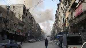 News video: Rescuers Say Cannot Keep Up With Air Strikes Battering Syria's Ghouta