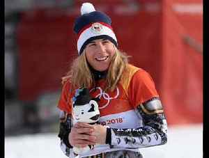 News video: Winter Olympics: 22-year-old Czech, Ester Ledecka wins Winter Olympics double gold