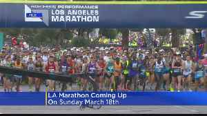 News video: Running The LA Marathon Next Month? Tips On How To Prepare