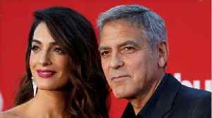 News video: Amal & George Clooney Offer Their Support For Parkland Survivors March On Washington