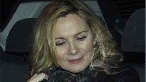 News video: Kim Cattrall Attends Memorial Service for Late Brother