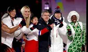 News video: Song and dance at Winter Olympics closing ceremony