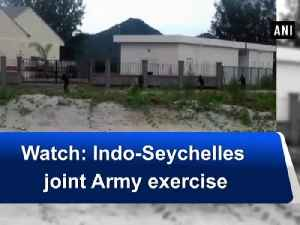 News video: Watch: Indo-Seychelles joint Army exercise