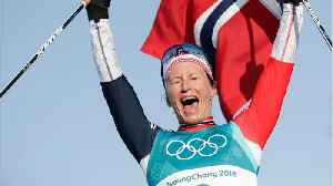 News video: Marit Bjoergen Wins Record 8th Gold Medal