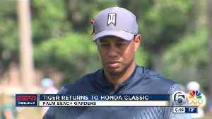 News video: Tiger Woods attracts large crowds at Honda Classic