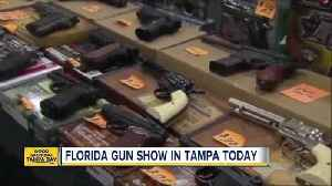News video: Weekend Gun Show in Tampa reveals varying views on Scott's school safety proposal