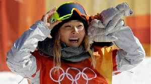 News video: Chloe Kim Dyes Hair After Winning Bet With Mother