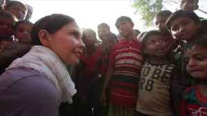News video: Ashley Judd reports from Rohingya camps
