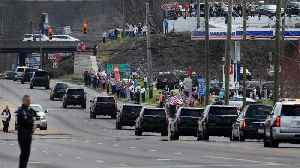 News video: Admirers Come Out To Watch Billy Graham's Motorcade Pass By