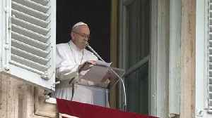 News video: Pope Francis calls for end to violence in Syria