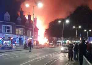 News video: Emergency Services Respond to 'Major Incident' Following Explosion in Leicester