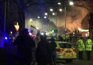 News video: Six Injured Following Explosion, Fire in Leicester