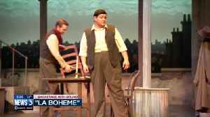 News video: Backstage with Bruno at 'La Boheme'