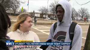 News video: Students discuss safety concerns in schools