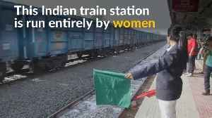 News video: Women take charge at India's second all-female train station