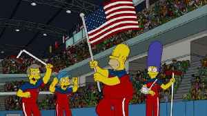 News video: 'Simpsons' Episode Predicted U.S. Olympic Curling Team's Gold Medal Victory