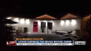 News video: License suspended for Love Ranch Brothel owner