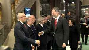 News video: Visit by King Felipe to Barcelona sparks riot