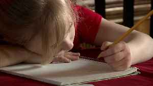 News video: Swiping Instead of Coloring Likely Delaying Kids' Fine Motor Skill Development