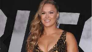 News video: Ronda Rousey Celebrates Signing With WWE