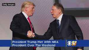 News video: President Trump Says He Had Lunch With NRA leaders