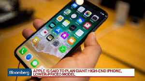 News video: Apple Said to Plan Giant High-End IPhone