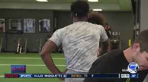 News video: Two former in state college football rivals working together to chase the dream