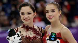 News video: Alina Zagitova and Evgenia Medvedeva are Compatriots and Rivals