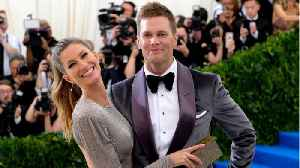 News video: Tom And Gisele Celebrate 9 Years Of Marriage
