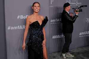 News video: Heidi Klum Hits out at Critics Who Say She Is 'Too Old to Model'