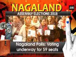 News video: Nagaland Polls: Voting underway for 59 seats