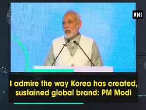 News video: I admire the way Korea has created, sustained global brand: PM Modi