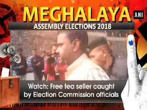 News video: Watch: Free tea seller caught by Election Commission officials