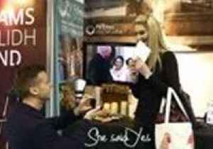 News video: Surprise Proposal at the Scottish Wedding Show