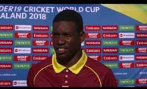 News video: Cricket World TV - West Indies v Ireland Highlights | Plate ICC u19 World Cup 2018
